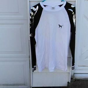 VS PINK bling shirt free w/$25+purchase